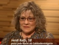 Heidi Ralfs bei Maischberger