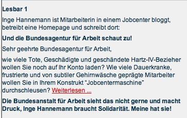 Infobrief W. Gehrke v. 14. März 2013 - Ausschnitt