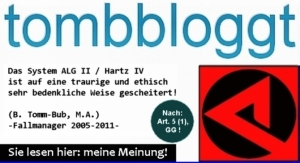 Logo: tombbloggt