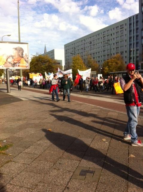 Bundesweite Herbstdemonstration Montagsdemo Berlin