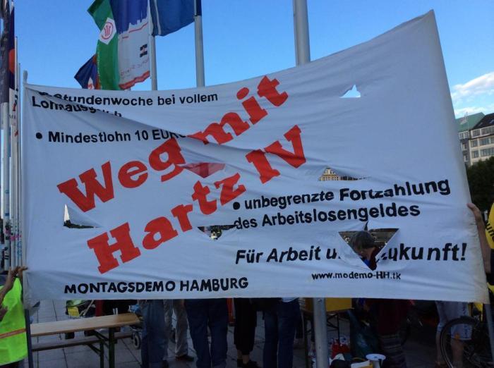 10 Jahre Montagsdemonstration Hamburg